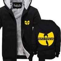uomini inverno hoodies spessi maschile cappotto in pile wu tang clan HIP HOP shubuzhi super uomo giacca calda dimensione di euro