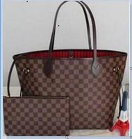 bf0d96c626 2019 Louis Vuitton Original 2018 bateau gratuit NEVER FULL sacs à main en  cuir de vachette couleur sac à bandoulière en cuir Sac à bandoulière Never  one