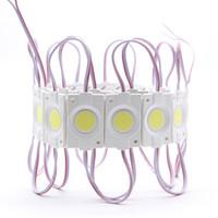 Round Injection COB LED-Modul Hintergrundbeleuchtung LED-Hintergrundbeleuchtung DC12V 2.4W 240lm COB IP65 für Kanalbuchstaben 46mm (L) * 30mm (B) * 3mm (H)