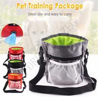 Tragbare Hundetraining Treat Schultertasche Haustier-Welpen Snack Belohnung Hüfttasche Hundesitter Nahrungsmitteltasche Abnehmbarer Haustier-Feed Tote Tasche