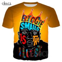 2020 nuovo modo magliette Rapper 2pac Tupac / Biggie Smalls 3D Stampa Uomini Donne Harajuku T supera più Pullover Dimensione