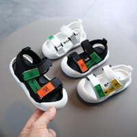 Baby Toddler Sandals Boys Girls Patchwork Colors Round Toe S...