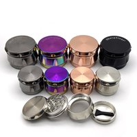 Herb Grinder 4 Layers 43 63mm Metal Zinc Alloy Tobacco Herba...