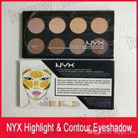 NYX Highlight Contour Pro Tavolozza concealer Powder Shadow Foundation Face Palette Full Size 8 colori trucco ombra