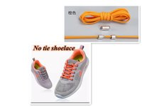 No tie shoelaces round elastic shoe laces for kids and adult...