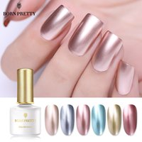 BORN BONITO Nail Art espelho de metal Soak prego Off UV Gel Polish Art Gel UV Manicure Verniz Sem Lamp Needed