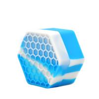 26ml 꿀벌 실리콘 컨테이너 항아리 멀티 컬러 비 스틱 컨테이너 실리콘 컨테이너 오일 무너질 왁스 실리콘 항아리 도구