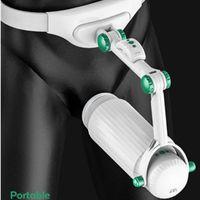 Telecomando Wearable elettrico automatico telescopico Masturbator maschio Interactive tazza di Masturbation Sex Machine Sex Toy Uomo Compra T191114