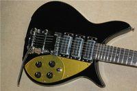 Piccoli rocker chitarra elettrica corpo nero tripla pickup Super Short 527 millimetri lunghezza effettiva della stringa acquisto consigliato