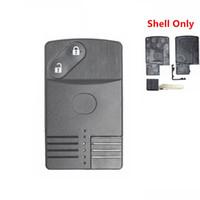 Carte à puce à distance Boutons Shell Key Case Fob pour MAZDA RX8 Miata