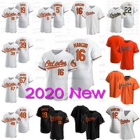 Trey Mancini 2020 새로운 시즌 크리스 Davis Jersey 오스틴 헤이즈 팻 밸리카 리차드 Urena Jose Iglesias Cole 웅덩이 숀 암스트롱