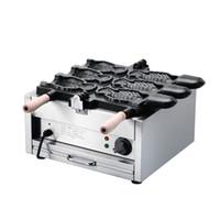 Для продажи открыты вафельные рот чайник электрический создатель taiyaki машина корейской Таяки мороженое в форме рыбы вафельный Бейкер