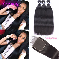 Peruvian Straight Hair Bundles With Closure Yirubeauty Peruv...