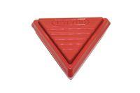 문신 공급을위한 1PCS 레드 프로 삼각형 평면 문신 발 페달 스위치 고품질 경량 풋 스위치 페달