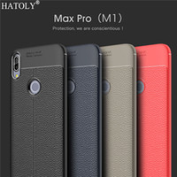 Telefon Kılıfı Asus Zenfone Max Pro M1 Durumda Yumuşak Kapak Asus Zenfone Max Pro için M1 ZB601KL Kapak ZB602KL X00TD Kauçuk TPU Funda