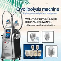 Fett-Gefriermaschine Kryo zum Abnehmen von HF-Caivitation multipolare Hochfrequenz-Maschine Vakuum Kavitation HF-Beauty-System