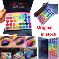 En Yeni Güzellik Camlı Göz Farı Paleti 39 Renk Göz Farı Renk Fusion Gökkuşağı paleti Mat Işıltılı makyaj far Yüz Vurgulayıcı
