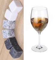 Natural Whiskey Stones Sorseggiando Ice Cube Stone Whisky Rock Cooler Christmas Wedding Party Bar Bere accessori
