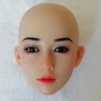 erkekler için gerçek aşkın silikon seks bebeği baş