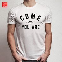 Come As You Slogan-T-Shirt Sind