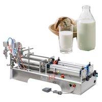 Kantitatif Dolum Makinesi Zeytinyağı Için İçecek Beyaz Şarap Saf Su Soya Sosu Sirke Çift Kafa Sıvı Paketleme Makinesi