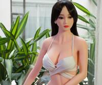 NOUVEAU Top qualité taille vie réelle silicone poupée de sexe gros seins, poupée véritable amour japonais, véritables poupées adultes, jouets sexy pour homme