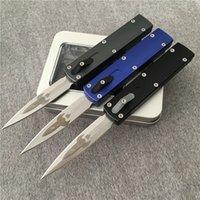 """Zulu 자동 칼 D 로켓 디자인 M390 2.85 """"새틴 블레이드 델리 엘 Caston 알루미늄 합금 MT Tech Knifes UT70 UTX-70 칼"""