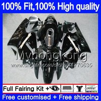 Injectie OEM voor Kawasaki ZX1200 ZX 12R 1200CC 2002 2003 2004 2005 2006 Gloss Black 224MY.47 ZX 12 R ZX-12R ZX12R 02 03 04 05 06 FUNLING