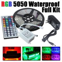 LED Rope Lights Waterproof 16. 4ft 5M SMD 5050 300leds  Roll ...