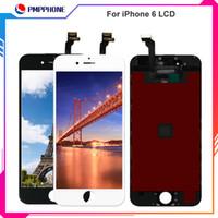 Pour iPhone 6 6s Blanc Verre Lcd Affichage Écran Tactile Digitizer LCD Assemblée Remplacement Outils Free DHL Shipping