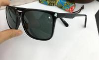 Markendesigner Mcy Jim 756 Sonnenbrille Hochwertige polarisierte randlose Linse Männer Frauen, die Sonnenbrille mit Etui fahren