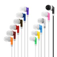 الجملة سماعات الأذن السائبة سماعات سماعات لمكتبة مدرسة المسرح، الفندق، المستشفى، هدية 12 ألوان OPP الفردية