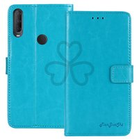 YLYH TPU Silicone Protective Premium Business Leather Rubber Gel Cover Phone Case For Alcatel 3X 1V 3L 2020 Pouch Shell Wallet Etui Skin