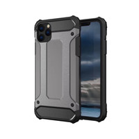 iPhone 12 Pro最大11 XR XS XS MAX 6 7 8 PLUS SE 2020 220PCS / LOT用アーマーハイブリッドディフェンダーケースTPU + PC耐衝撃カバーケース