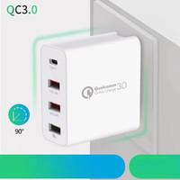 빠른 QC 3 0 아이폰 삼성 샤오 미의 새로운 휴대 전화 충전기를 충전 48W의 USB 충전기 급속 충전 3.0 QC3.0