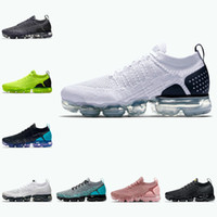 2020 Nike Air Max Vapormax 2.0 Shoes New airmax flyknit Laufschuhe Zebra Erde Frauen Breathable Designer Maxes Sports Turnschuh-Trainer