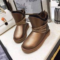 2020 neueste Art und Weise WGG Frauen klassische hohe Aufladungen Qualitäts-Damen Stiefel Stiefel Schneestiefel Winterstiefel Lederstiefel