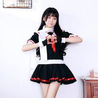 여자 여자 치어 리더 학교 소녀 유니폼 섹시한 코스프레 의상 할로윈 이국적인 의상 Skirsexy 학생과 복장 짧은 소매 셔츠