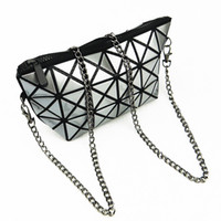 Cheap Wholesale Matte chain Fold Best Cute Bag Women Toiletr...