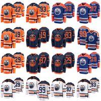 Edmonton Oilers Jerseys Mens 19 Mikko Koskinen Jersey 29 Leon Draisaitl 97 Connor McDavid Ice Hockey Jerseys Womens Stitched Youth