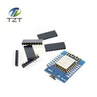 Livraison gratuite 5pcs Smart Electronics D1 mini - Mini NodeMcu 4M octets Lua Conseil de développement de l'Internet des objets WIFI basé ESP8266 de WeMos
