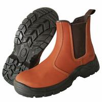 Di vendita calda degli uomini in acciaio puntale scarpe di sicurezza lavoro piattaforma utensili stivaletti cow boy slip-on zapatos