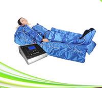 Профессиональный 3 в 1 Прессотерапия Аппарат Инфракрасного Тепла Slim Wrap Одежда Массаж Давления Циркуляция Крови EMS Электрическая Мышечная Стимуляция