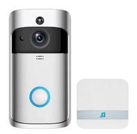 Видео Дверь колокол WiFi Дверные звонки HD Водонепроницаемый 720P Визуальная камера + 1 шт. Dingdong для IOS Night Vision IR Домофон Кольцо Безопасность Телефона