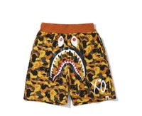 2019 New Teenager Orange Camo Beach Shorts Pants Tide Brand ...