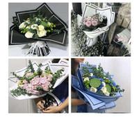 Fiore Packaging fiorista di carta fatta a mano Forniture Materiale Diy Bouquet Confezione regalo di festival Carta da regalo 20pcs / lot CNY1004