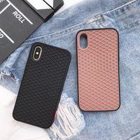Новый уличный вафельный бренд Мягкий силиконовый чехол Чехол для iphone 5 6 plus 7 7plus 8 8plus X XS XR MAX 11 Pro Grid pattern phone coque