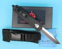 Allvin Skull alça A07 auto faca tática 440C borda única tanto fina lâmina ao ar livre resgate de sobrevivência face knifes edc bolso facas xmas presente