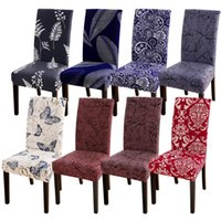 Flower Printed Chair Cover For Wedding Party Banquet Hotel B...