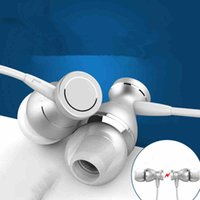 Metal in- ear headphones Magnetic wire control with wheat MP3...